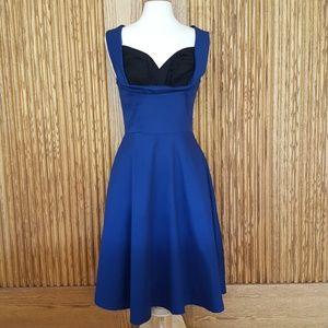 NWT Modcloth Lindy Bop Retro Ophelia Swing Dress